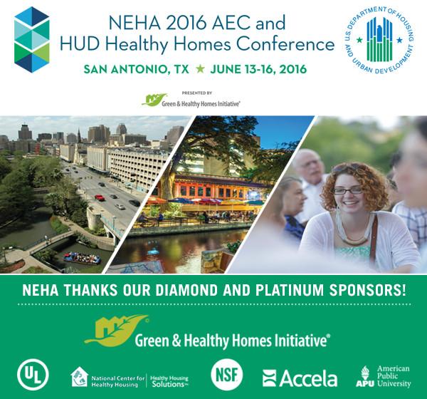 NEHA AEC & HUD Healthy Homes Conference in San Antonio